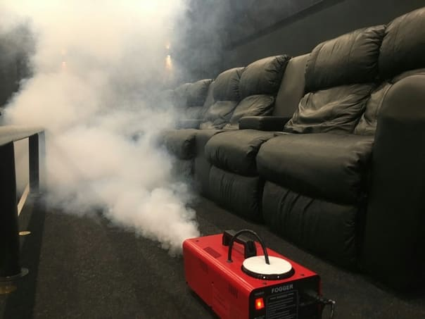 Дезинфекция сухим туманом